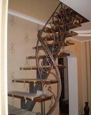 Изготовление металлических лестниц - foto 0
